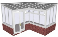 Conservatory - L Shape Internal Sunroom