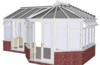 Conservatory - P Shape Victorian Style