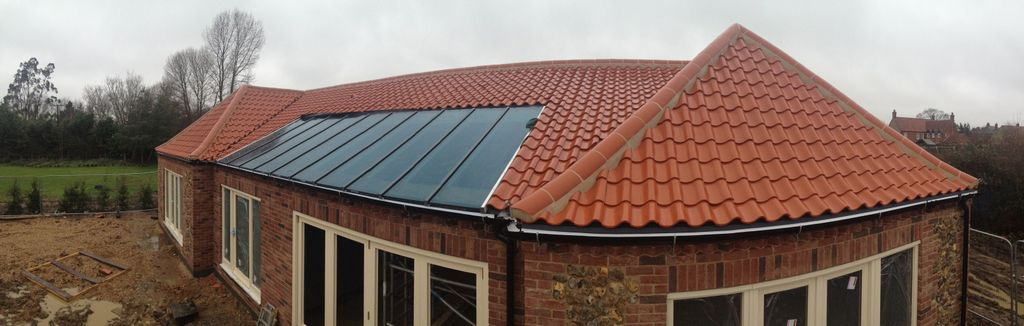 Roof Glazing Systems : Glazed roofs chinese green roof tiles by