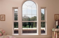 upvc white chapel window