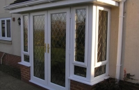 Upvc windows and doors downham market glass glazing for Plastic french doors