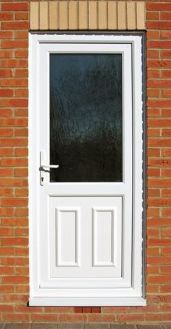 Upvc glass back door