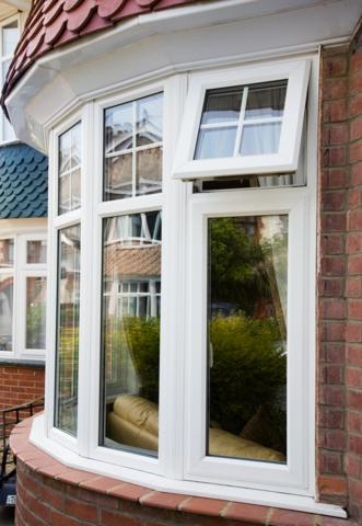 Upvc windows and doors downham market glass glazing for Curved bay window