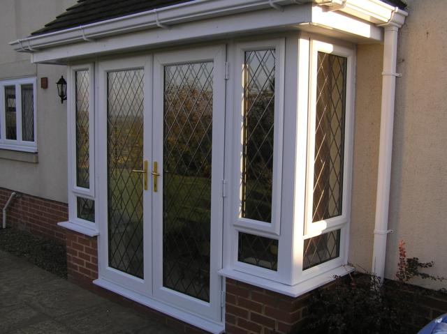 Upvc windows and doors downham market glass glazing for Double glazed porch doors