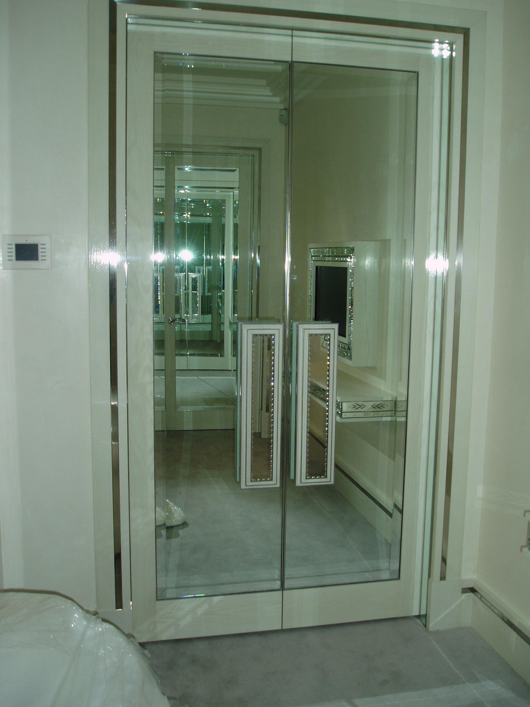 Mirrored Wardrobe Doors And Handles Glass Amp Glazing