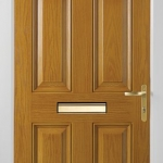 Solid Oak Composite Door