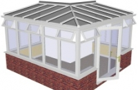 Conservatory - L Shape External Sunroom Style