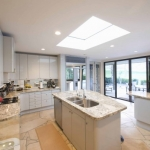 Rooflight for Flat Roofed Kitchen