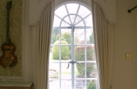 Secondary glazing in listed building windows