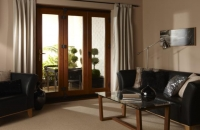 upvc bifolds closed