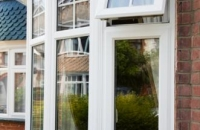 upvc curved bay window