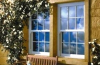 upvc white vertical sliding window