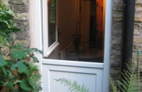 upvc white stable-door