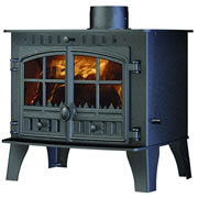 Wood Burning Stove Ceramic Glass