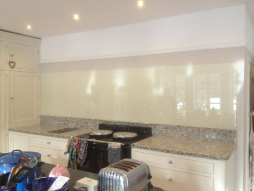 Back Painted Kitchen Splashback, Holt
